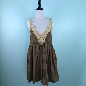 Free People Medium Breathless Mini Dress
